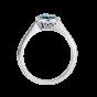 Venus Blue Tourmaline Ring