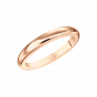 Rose Gold Wedding Band 2.5mm