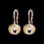 Cinderella Earrings in 18K Rose Gold