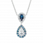 Tsarina Alexandrite and Diamond Pendant