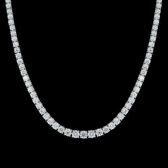 Diamond Riviera Line Necklace