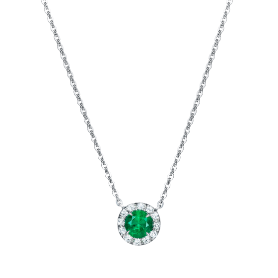 Regal Emerald Pendant
