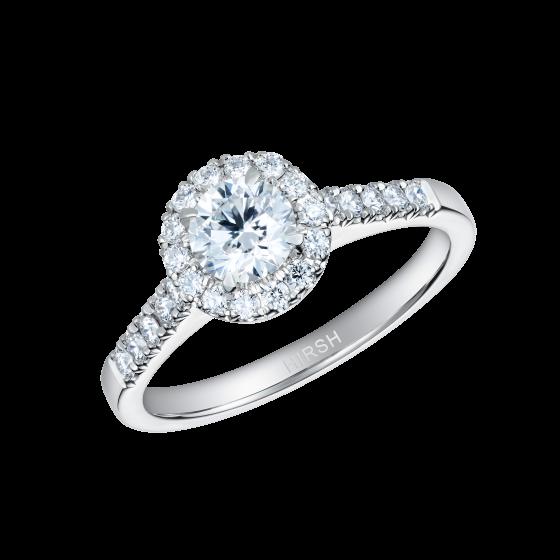 Regal Round Brilliant Cut Diamond Ring