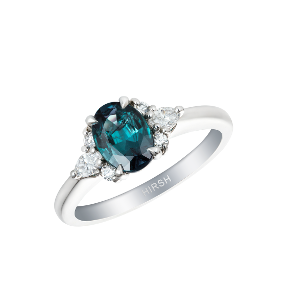 Papillon Alexandrite and Diamond Ring