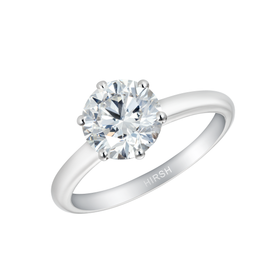 Solitaire Ring with Round Diamond