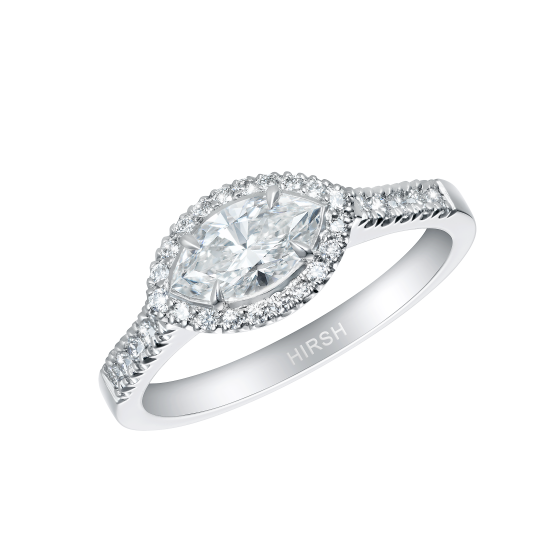 Regal Marquise Diamond Ring