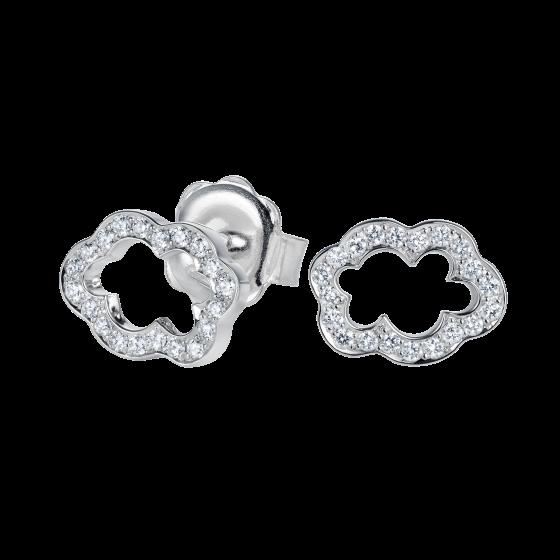 Cloud 9 Diamond Earrings