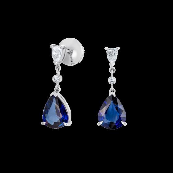 Grafton Sapphire and Diamond Earrings