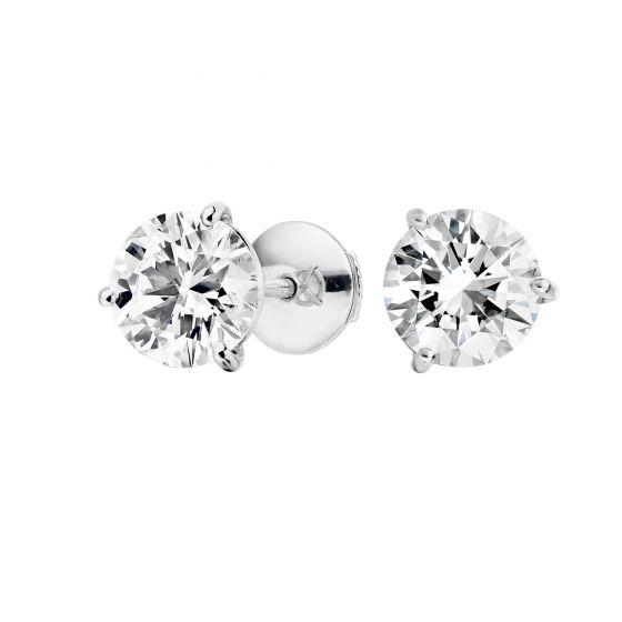 Diamond Studs 1.51 carats total