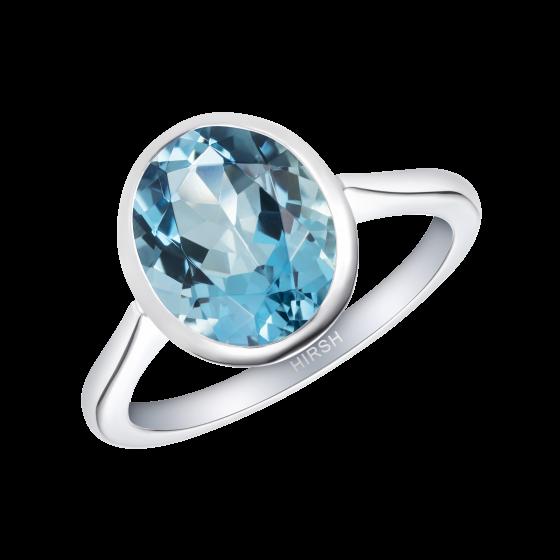 Venus Aquamarine Ring