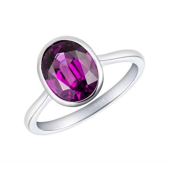 Venus Purple Garnet Ring
