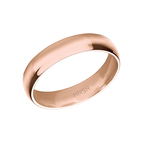 Rose Gold Wedding Band 5mm