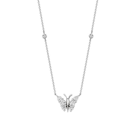 Flutter Diamond Pendant