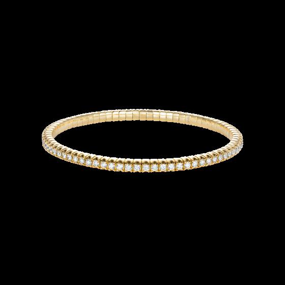 Advantage Diamond Bracelet in Yellow Gold
