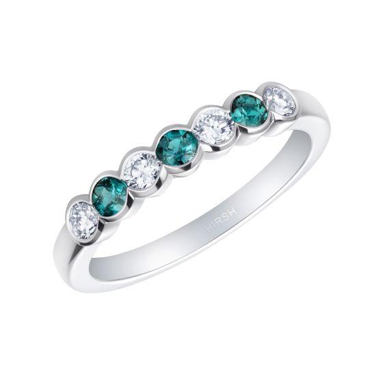 Lifetime Alexandrite and Diamond Ring
