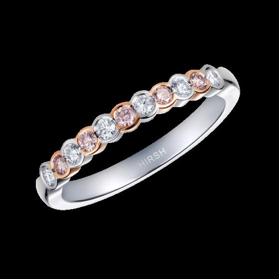 Lifetime Pink Diamond and Diamond Ring