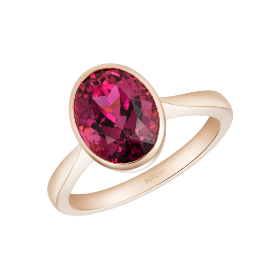 Venus Oval Rubellite Ring