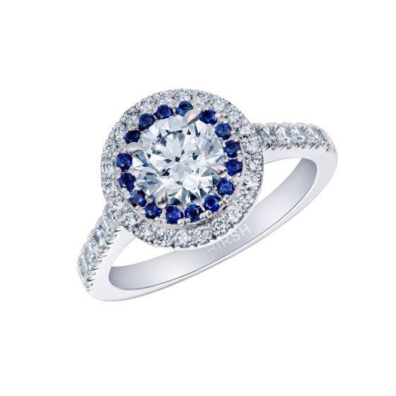 Regent Diamond and Sapphire Ring