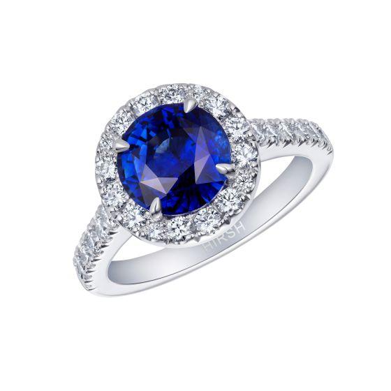 Regal Sapphire and Diamond Ring