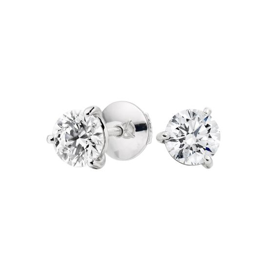 Solitaire Diamond Studs 1.10 carats total