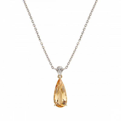Wallace imperial topaz pendant aloadofball Image collections