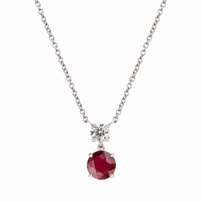 Wallace Ruby Pendant