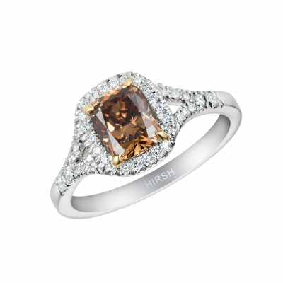 Harmony Ring with Cognac Diamond