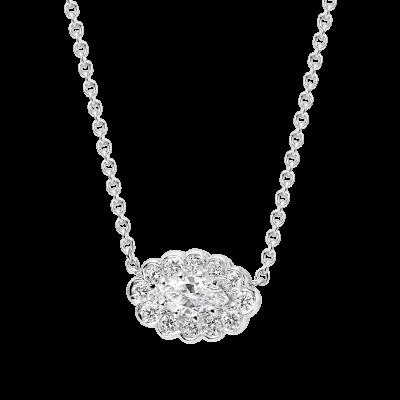 Marquise Diamond Pendant