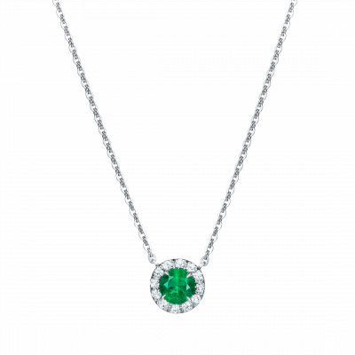 Regal Emerald Pendant