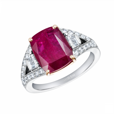 Majestic Ring with Ruby