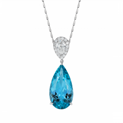 Burlington Aquamarine Pendant