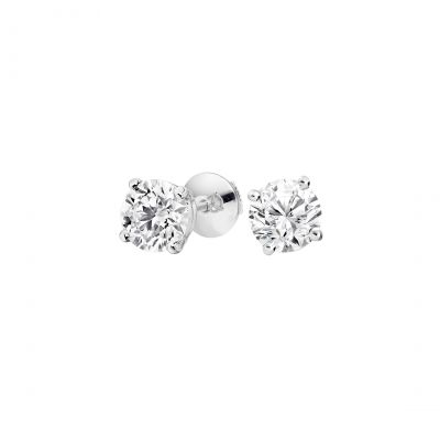 Solitaire Diamond Studs 0.20 carats total
