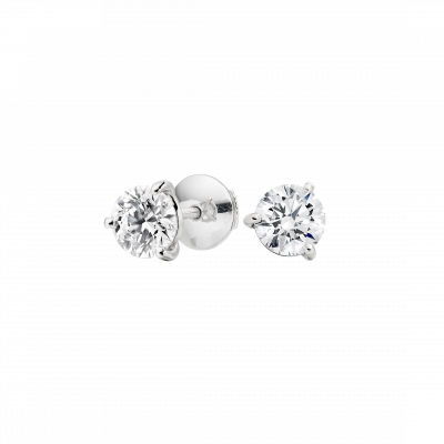 Solitaire Diamond Studs 0.40 carats total