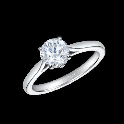 Solitaire Round Diamond Ring