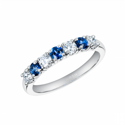 Lifetime Sapphire and Diamond Ring