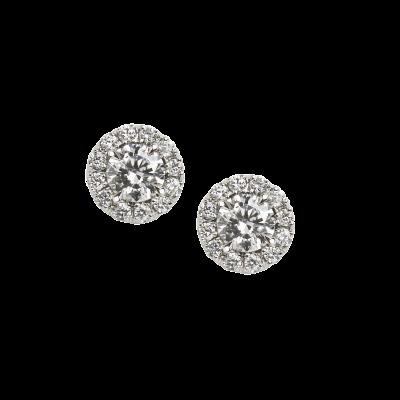 Regal Diamond Earrings