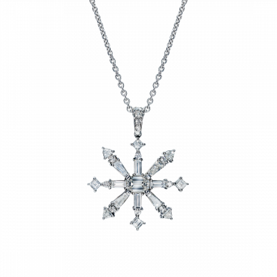 One-of-a-kind Snowflake Pendant