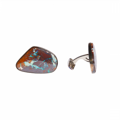Unique-Links with Large Yowah Nut Opals