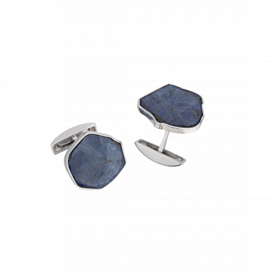 Unique-Links Sapphire Slice Cufflinks