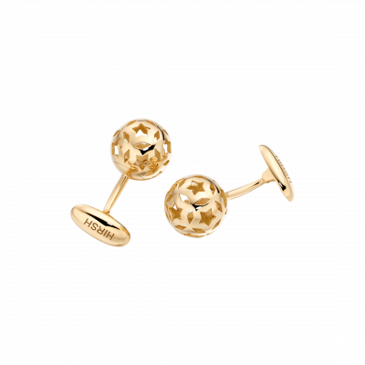 Celestial Cufflinks in Yellow Gold