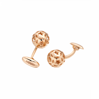 Celestial Cufflinks in Rose Gold