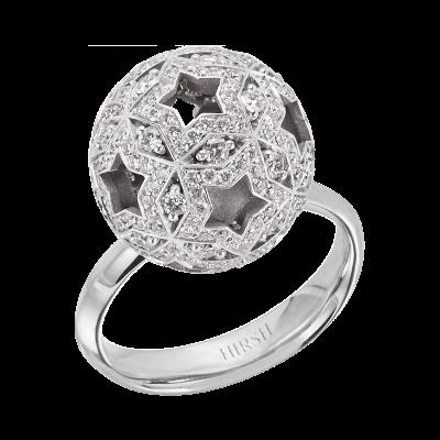 Celestial Orion Diamond and White Gold Ring