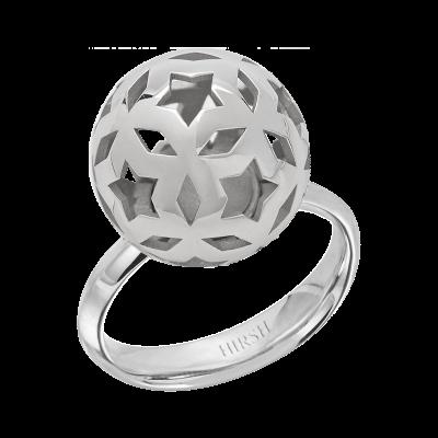 Celestial Lyra White Gold Ring