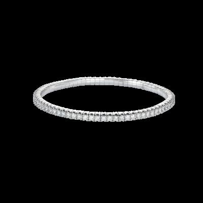 Advantage Diamond Bracelet in White Gold