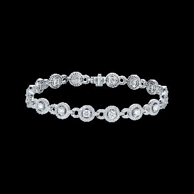 Brilliant Cut Diamond Regal Bracelet