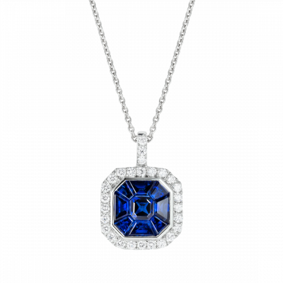 Sapphire Gatsby Pendant