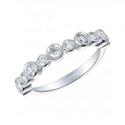 0.53 Carat Diamond and Platinum Lifetime Ring
