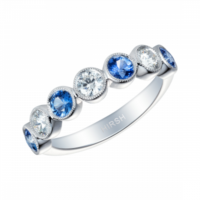Lifetime Sapphire and Diamond Ring