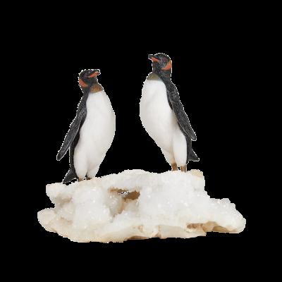 Pingu and Pinga the Penguins Sculpture