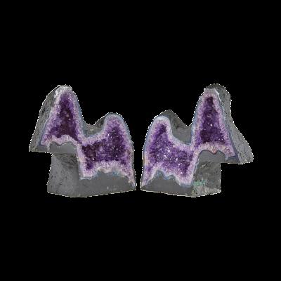 Amethyst Geode Dogs